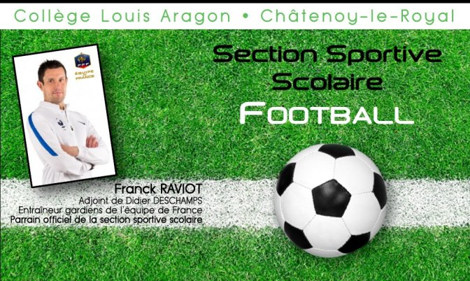 Section sportive scolaire Football - rentrée 2018